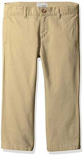 Boys Clothing Husky - The Children's Place Boys' Husky Uniform Chino Pants, Flax, 12