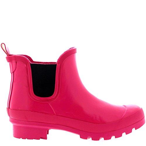 Rain Snow Fushia Original POLAR Wellington Womens Boots Dark Chelsea Waterproof Gloss Winter RWSqB