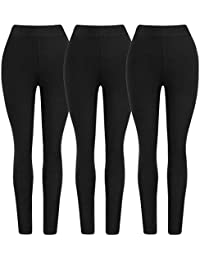 Fashion Cute Ultra Soft Ladies Seamless Solid Compression Ankle Leggings for Women