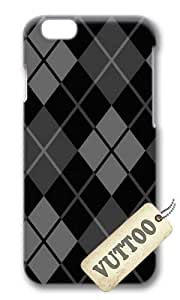 iPhone 6 Case,VUTTOO iPhone 6 Cover With Photo: Dark Argyle For Apple iPhone 6 4.7Inch - PC Hard Case