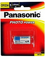 Panasonic Primary Lithium Battery (CR123A)