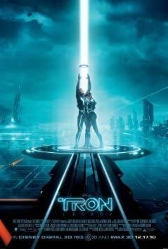 Tron Legacy 24x36inch Movie Silk Poster Hot Room Door Wall Decoration