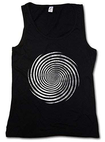 HYPNO SPIRAL I WOMAN TANK TOP GYM FITNESS TRAINING SHIRT - Sizes S - XL