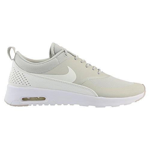 Nike Women's Air Max Thea Low-Top Sneakers, Cargo Khaki Beige (Light Bone/Sail/White)