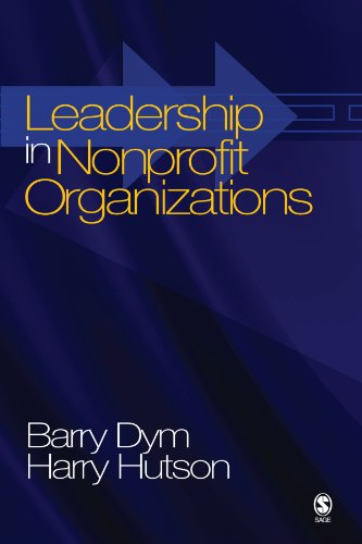 Leadership in Nonprofit Organizations: Lessons From the Third Sector