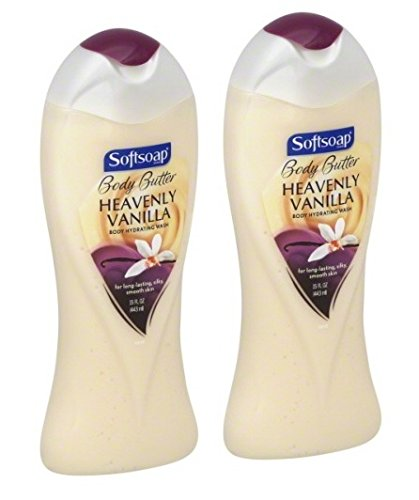 2 Pk, Softsoap Body Butter Heavenly Vanilla Body Hydrating Wash, 15 Fl. - Body Wash Hydrating Softsoap