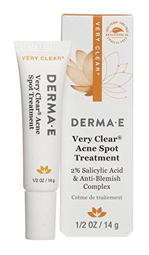 DERMA E Very Clear Acne Spot Treatment, 0.5 Oz