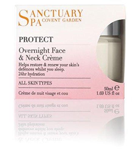 聖域スパ一夜顔&ネッククリームの50ミリリットル (Sanctuary) (x2) - Sanctuary Spa Overnight Face & Neck Crme 50ml (Pack of 2) [並行輸入品]   B01N3SM0MD