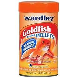Wardley Floating Pellets Goldfish Food [Set of 2] Size: 5 oz.
