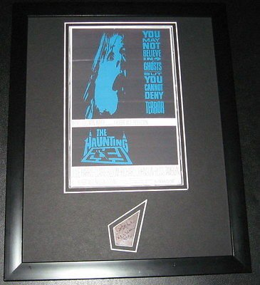 Julie Harris The Haunting Signed Framed 11x14 Photo Display ()