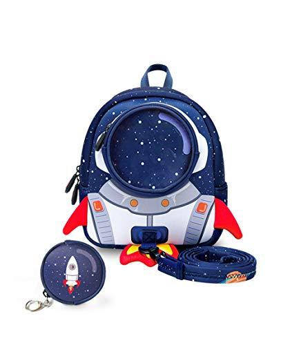 (YOURNELO Children's Fashion Rocket School Backpack Bookbag Daypack)