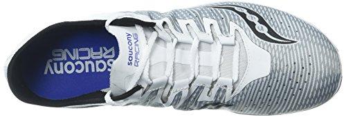 Scarpa Da Pista Per Atletica Leggera Endodino 2 Bianco / Blu