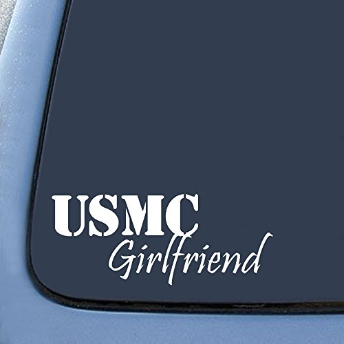 USMC Girlfriend Sticker Decal Notebook Car Laptop 8