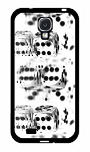 Glass Dice- pc pc SILICONE Phone Case Back Cover Samsung Galaxy S4 I9500