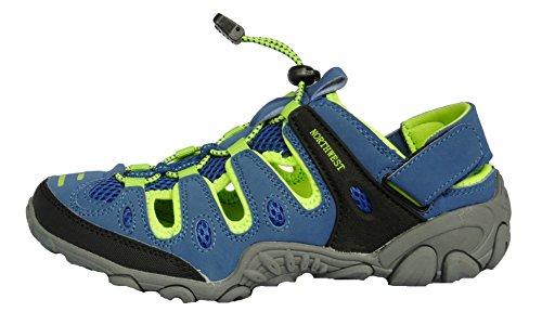 bambine Northwest da Atlanta Blue per sandali ragazze Territory trekking donne Lime qq7wO8