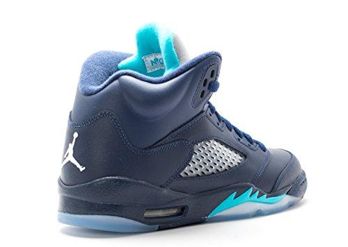... Nike Air Jordan 5 Rétro Bg (gs) Frelons - 440888-405 ...