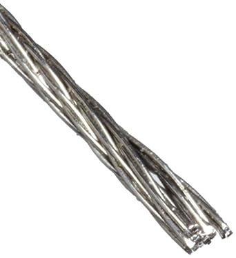 Amazon.com: Loos 302/304 de acero inoxidable Cuerda de ...
