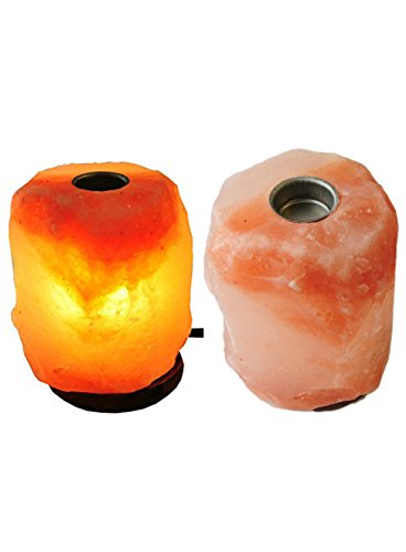 Himalayan Salt Lamp Aroma Essential Oils with Plate 5-6