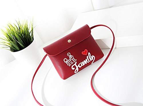 Print Sac Style Rouge Lady Unie Main Shanzwh famille À Bandoulière Sweet Couleur UzZ8fW