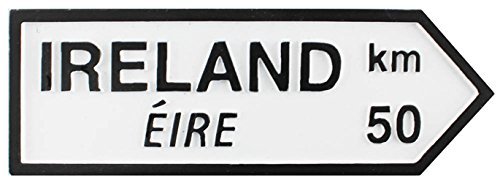 Shamrock Gift Co Resin Road Sign - Ireland