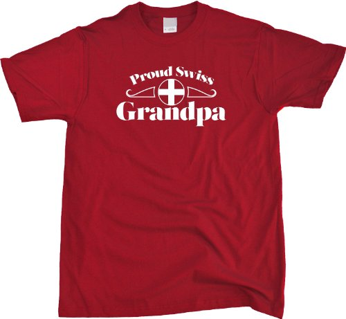 Proud Swiss Grandpa | Switzerland Pride Unisex T-shirt Switzerland Grandparent Shirt