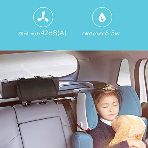 Qewmsg Mi Xiaomi Car Air Purifier for Car Air Cleaning Haze Purifiers Household