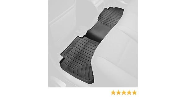 WeatherTech Custom Fit Rear FloorLiner for Select Dodge//Mitsubishi//Ram Models Black 440252