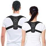 Belletek Back Posture Corrector for Women & Men - Effective and Comfortable Posture Brace/Figure corrector for Slouching & Hunching - Discreet Design - Clavicle Support- Improving Posture-Relief Back Pain