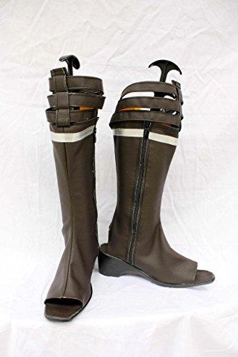 Final Fantasy Xiii Ff13 Oerba Yun Fang Cosplay Zapatos Botas Por Encargo