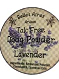 Hand-Made Talc-Free Body Powder (Lavender; 8oz)