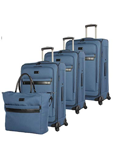 (Nicole Miller New York Coralie Collection 4-Piece Luggage Set: 28