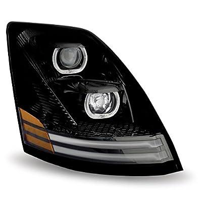Volvo VNL Halogen Headlight Assembly with LED (Passenger Side)