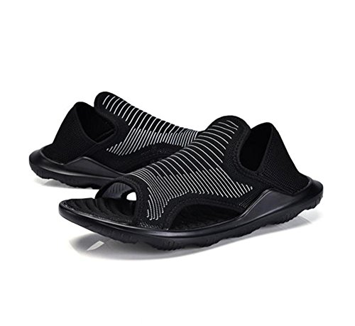 W&XY Beach Shoes Men's Mesh Breathable Outdoor Sandals Lightweight Comfort Slippers 39 pj13oAXRP