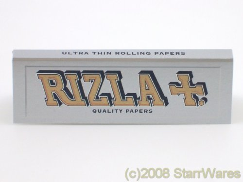 Rizla Silver Cigarette Rolling Papers - 10 Packets