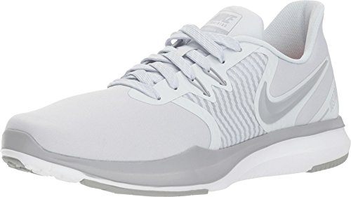 Nike Women's In-Season TR 8 Cross Training Shoes (8.5 M US, Pure Platinum/Wolf Grey)