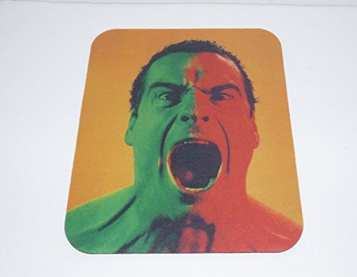 HENRY ROLLINS Aaaaaagh!!! COMPUTER MOUSE PAD (Punk Rock Mouse Pad)