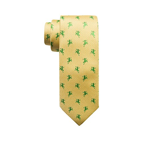 Wembley Boys Boys' Big Novelty Tie, Yellow, One -