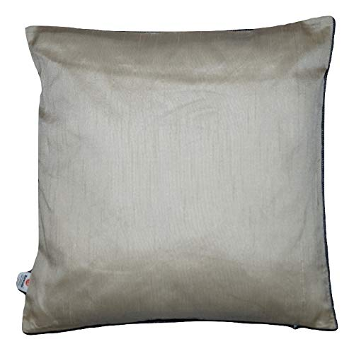 Funda de almohada en crema de Ruwado Basics con cremallera ...
