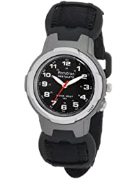 Unisex 25/6369 Easy to Read Instalite Black Watch