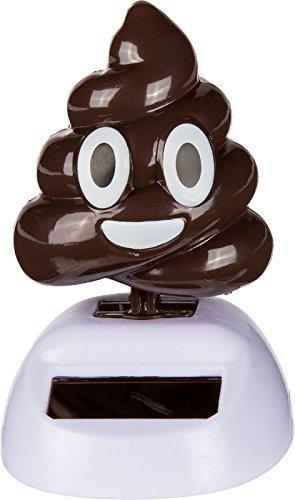 Figurine Poo Caca Mobile Solaire - Bureau Voiture Déco Maison - 352 Générique