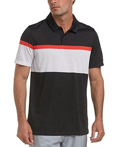 Nike Golf Mens Mobility Color Block Polo, Xl, Black