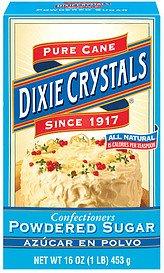 Dixie Crystals Pure Cane Sugar Powdered (Dixie Sugar)
