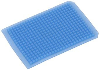 Sun Sri PTFE/Silicone Microplate Mat, 96 Round Well, Square Base (Pack of 5)