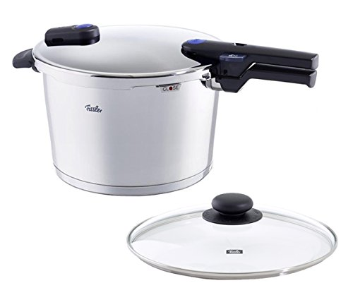 - Fissler 8.5 quart Vitaquick Pressure Cooker with Glass Lid Set