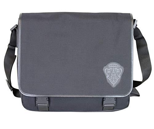 Gucci Unisex Black Canvas Messenger Bag With Hysteria Crest 282524 1001