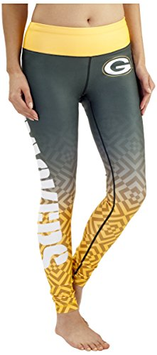 Green Bay Packers Gradient Print Legging - Womens Extra Large