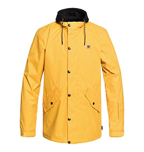 DC Shoes Mens Shoes Union - Snow Jacket - Men - M - Yellow Golden Rod M