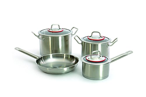Berghoff Hotel Line - Stainless Steel Induction Cookware Set