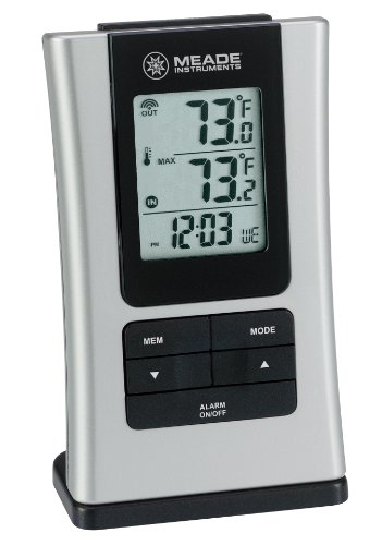 Meade Instruments TE109NL-M Wireless Indoor/Outdoor Thermometer