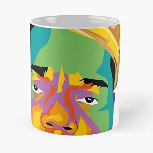 Biggie Rap Tupac King - White -coffee Mug- Unique Birthday Gift-the Best Gift For Holidays- 11 Oz.